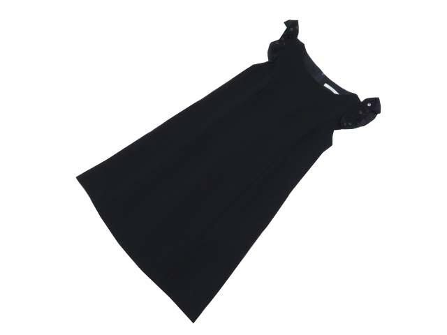 FOXEY BOUTIQUE 39335 Dress ミッドナイトブルー 38 A1【中古】