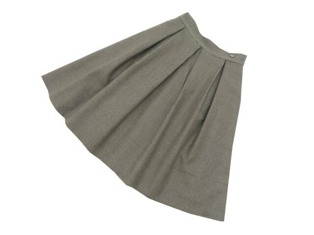FOXEY BOUTIQUE 36318 Skirt ダークナチュラル 38 S2【中古】