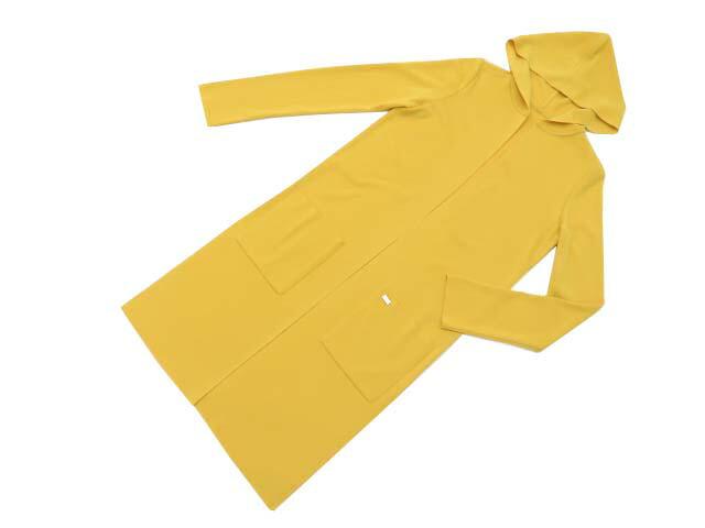 FOXEY BOUTIQUE 39200 Cardigan(Slender HOODIE) マリーゴールド F A1【中古】