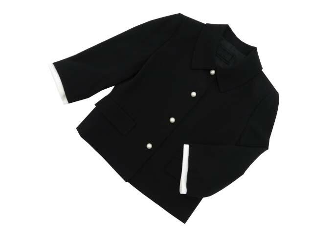 FOXEY BOUTIQUE 37602 Jacket ブラックブラック 40 A1【中古】