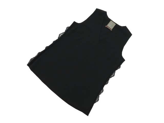 DAISY LIN for FOXEY 36901 TOPS ブラックブラック 40 A1【中古】