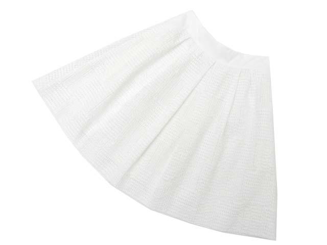 FOXEY BOUTIQUE 35716 スカート ホワイト 40 A1【中古】