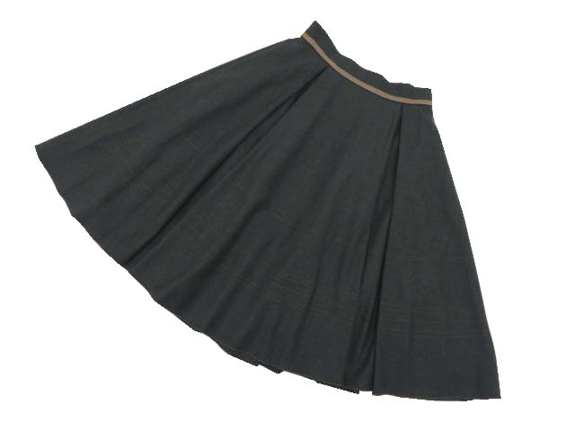 FOXEY BOUTIQUE 39989 Skirt リッチグレー 40 S2【中古】
