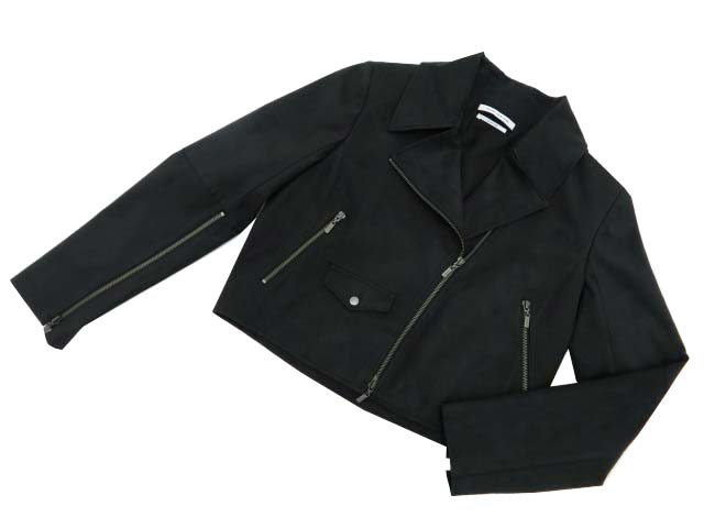 FOXEY NEW YORK COLLECTION 40639 Jacket ブラック 38 A1美品【中古】