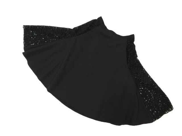 FOXEY BOUTIQUE 39321 Skirt(Parisienne) ブラックブラック 38 S1【中古】