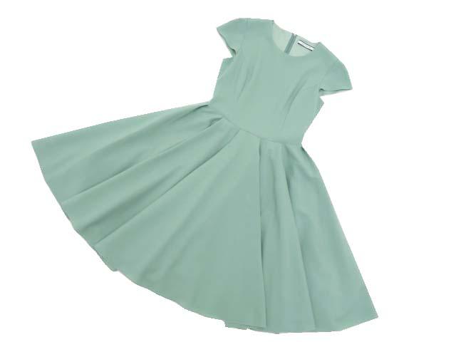 FOXEY NEW YORK 39812 Dress(Avigaille) グリーン 38 S2【中古】