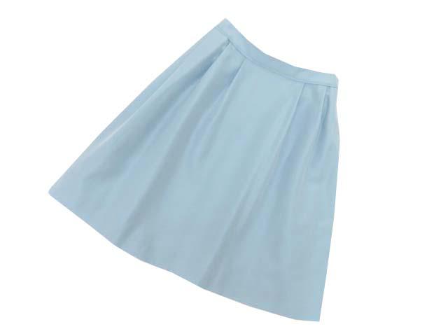 4/18(土)21:30から販売開始!!!FOXEY BOUTIQUE 40085 Skirt ブルー 42 S1【中古】