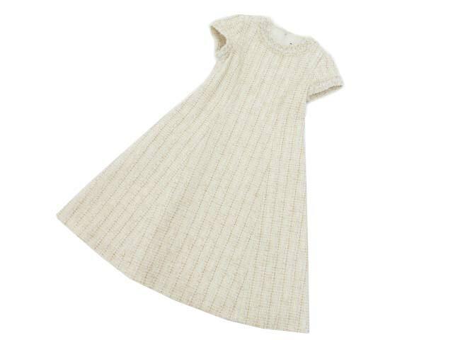 FOXEY BOUTIQUE 41120 Dress(Botanical) アイボリー 38 S1【中古】