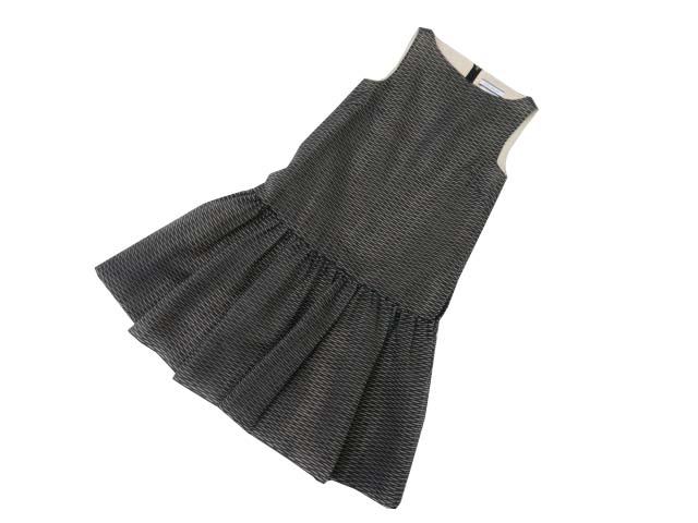 6/2(火)21:30から販売開始!!!FOXEY NEW YORK COLLECTION 38948 Dress ブラック 38 A1【中古】