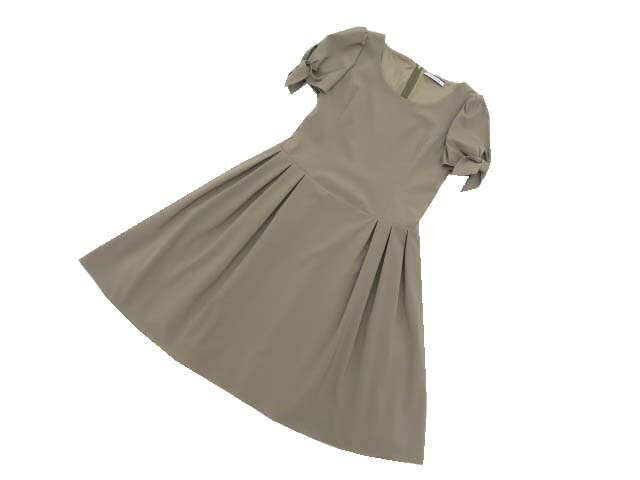 FOXEY NEW 値下げ YORK ドレス 至上 レディシック 40708 新品同様 中古 ブラウン 40 '20年