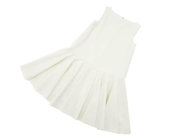 FOXEY NEW YORK 40742 Dress ホワイト 38 S1【中古】