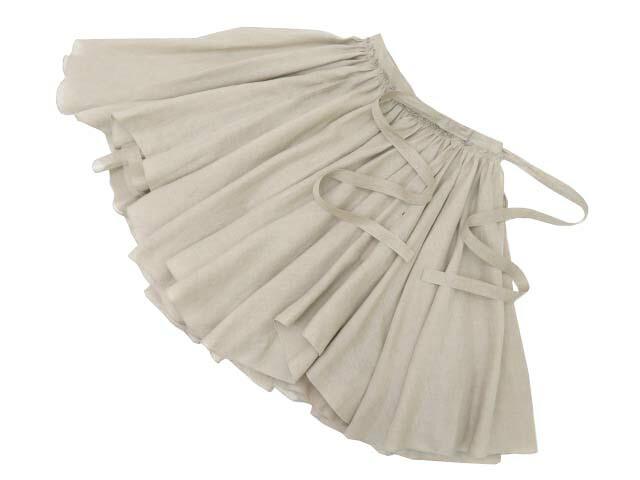 FOXEY BOUTIQUE 38452 Skirt(Linen Bouquet) ナチュラル 42 S2【中古】