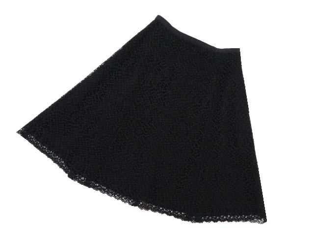 FOXEY NEW YORK COLLECTION スカート 39868 ブラック 40 '19年 A1【中古】
