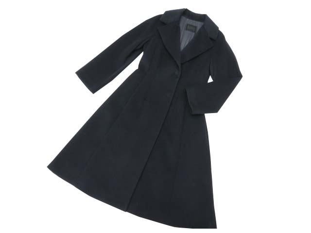FOXEY BOUTIQUE 37909 COAT(GARCONNE) フェア受注品 ミッドナイトブルー 38 S2【中古】