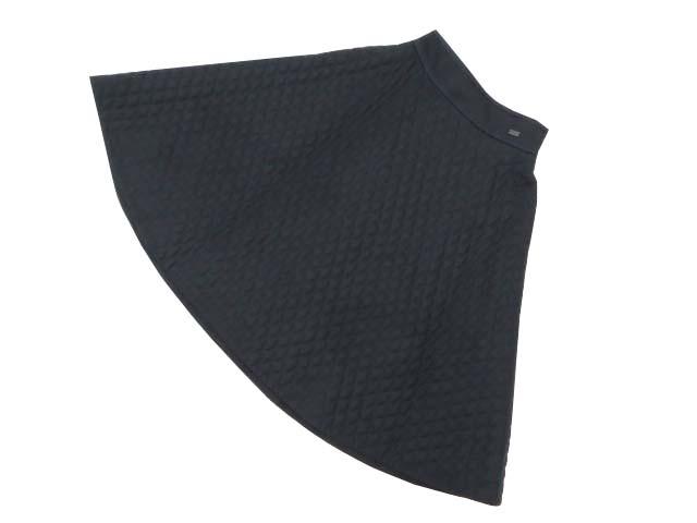 FOXEY BOUTIQUE 37433 Skirt(フレアーマトラッセ) 2019年増産 ミッドナイトブルー 38 S1【中古】