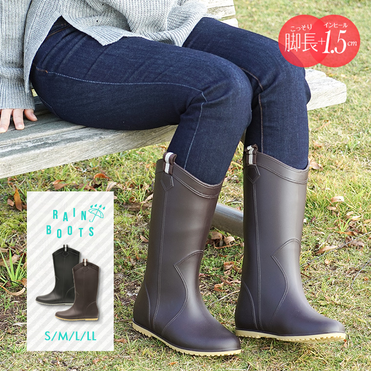 Rubber Boots Western Snow Boot Waterproofing Cold Protection Slipper Anti Slip Gardening Bootie Low Heel Black Pullover