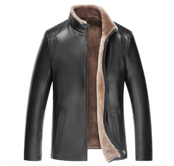 セレブレザー メンズ 本革 ムートンファーボア羊皮羊毛ウールラムレザーコートジャケット JKT 革ジャンcf-40602420889