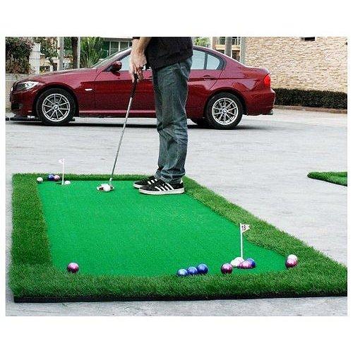 新品 セレブレザー 【ご自宅用練習セット】 ゴルフ練習 本格 パターマット 1m×3m ゴルフ 芝 パット・ボール付