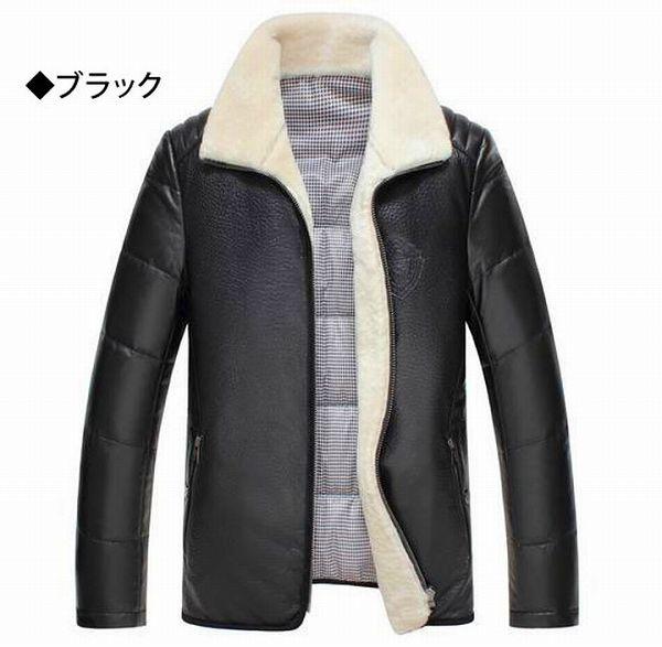 【羊皮革 ジャケット】セレブレザー メンズ コート j015
