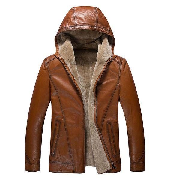 セレブレザー メンズ 本革 ムートンファーボア羊皮羊毛ウールラムレザーコートジャケット JKT 革ジャンcf-522560161350
