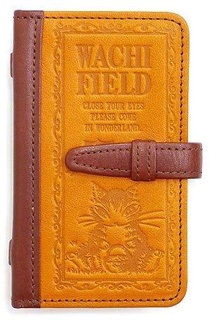 WACHIFIELD [わちふぃーるど] ダヤン オールドブック カード ケース いちご摘み 本革