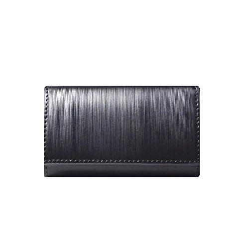LANZA (ランザ) キーケース ストリシアレザー [ ブラック ] 財布 鍵 イタリア製