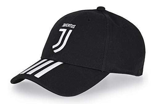 ユベントス JUVENTUS HOME 3 STRIPES CAP 2018/19 帽子 キャップ ブラック 3ストライプ