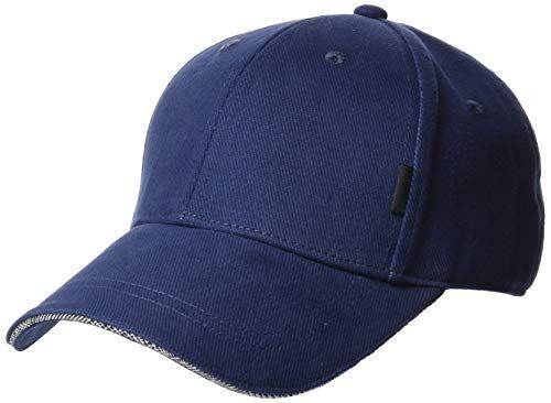 [ソネモネ] 帽子 Sonemone 野球帽 キャップ ネイビー ソリッドデザイン US Freeサイズ (FREE サイズ)