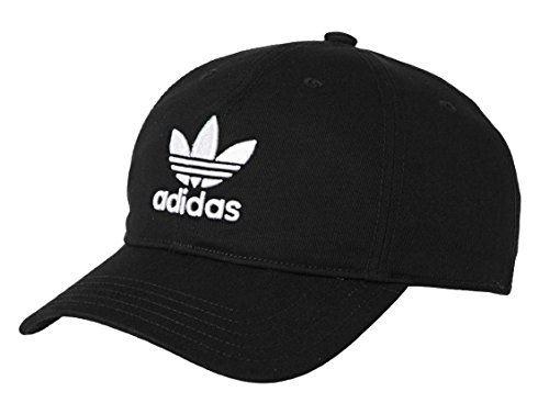 [アディダスオリジナルス] adidas Originals Logo Cap In Black キャップ 黒 [並行輸入品]