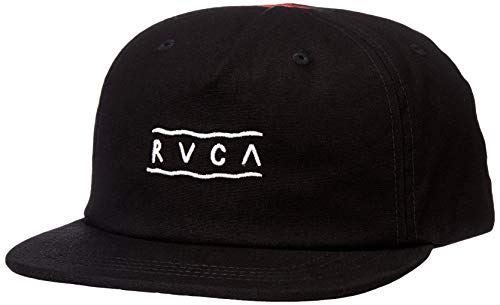 [ルーカ] [ユニセックス] スナップバック キャップ (サイズ調整可能)[ AJ041-904 / GERRARD SNAPBACK CAP ] 帽子 おしゃれ BLK_ブラック US F (FREE サイズ)