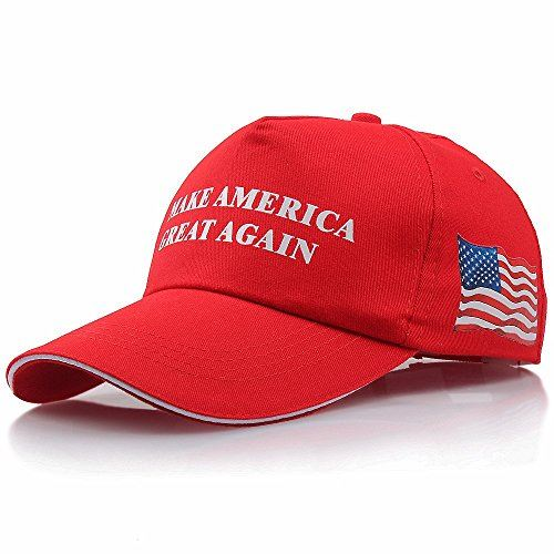 New Trump Hat President Make America Great Again MAGA Baseball Cap Hat RED Olive