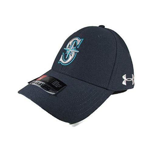 [アンダーアーマー] 帽子 クラシック フィット キャップ UNDER ARMOUR Mens Cap 1316991 Seattle Mariners [並行輸入品]