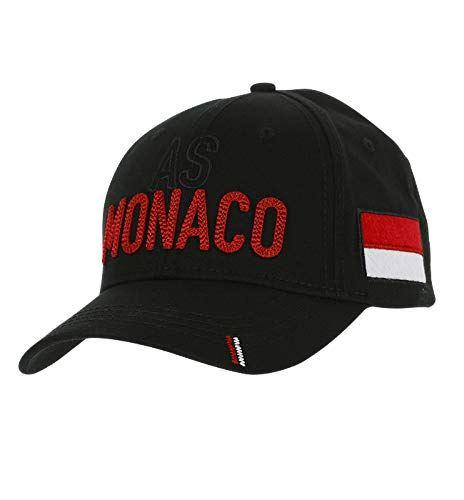 ASモナコ AS Monaco Black Cap 帽子 キャップ ブラック