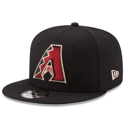 NEW ERA (ニューエラ) MLBフラットバイザー/スナップバックキャップ (9FIFTY 950 CAP) アリゾナ・ダイヤモンドバックス ※ナショナルリーグロゴ サイド刺繍付き