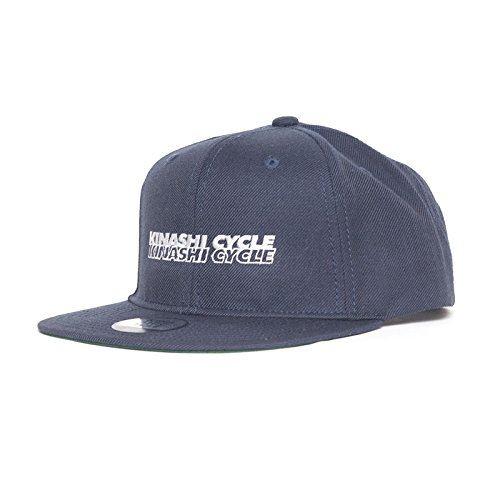 KINASHI CYCLE 木梨サイクル スナップ バック キャップ( 2ライン ) ネイビー