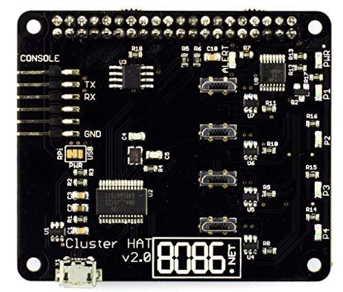 ClusterHAT v2.0 for Raspberry Pi - クラスター 構築用 HAT