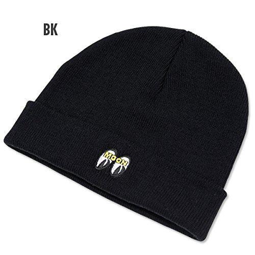 MOON ショート ビーニー キャップ M [CM142-BK] ブラック