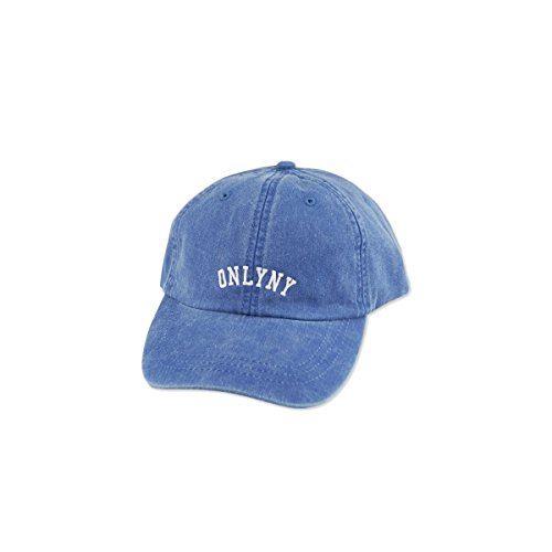 (オンリーニューヨーク)Only NY VARSITY POLO HAT FRENCH BLUE ポロ キャップ フレンチブルー 16342
