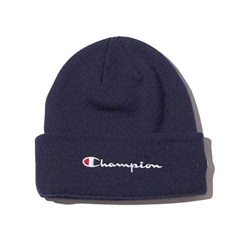 CHAMPION x ATMOS LAB KNIT CAP (NAVY)