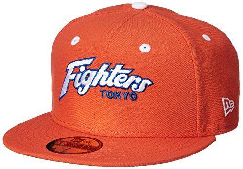 (ニューエラ)NEW ERA ベースボールウェア NPB 5950 日本ハムファイターズ キャップ 11434035 [ユニセックス] 11434035 オレンジ、スノーホワイト/ロイヤル 7.3/8