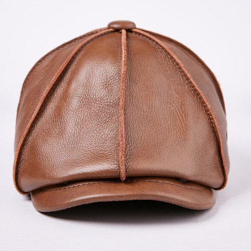 新品 レディース 帽子 本革 牛革 大人気 565098516595