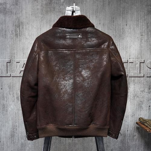 新品 羊皮ラムレザージャケット 大人気 羊革 セレブレザー本革レザージャケットJKT大きいサイズビッグビックメンズBIGミリタリアメカジビジネスバイカータイト558973803975