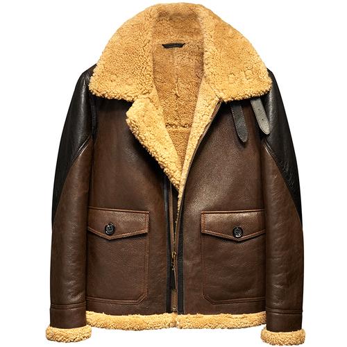 新品 羊皮ラムレザージャケット 大人気 羊革 セレブレザー本革レザージャケットJKT大きいサイズビッグビックメンズBIGミリタリアメカジビジネスバイカータイト558708046125
