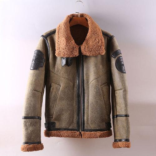 新品 羊皮ラムレザージャケット 大人気 羊革 セレブレザー本革レザージャケットJKT大きいサイズビッグビックメンズBIGミリタリアメカジビジネスバイカータイト565073649976