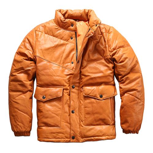 新品 山羊皮ゴートレザージャケット 新品セレブレザー本革レザージャケットJKT大きいサイズビッグビックメンズBIGミリタリアメカジビジネスバイカータイト 大人気 575707599077