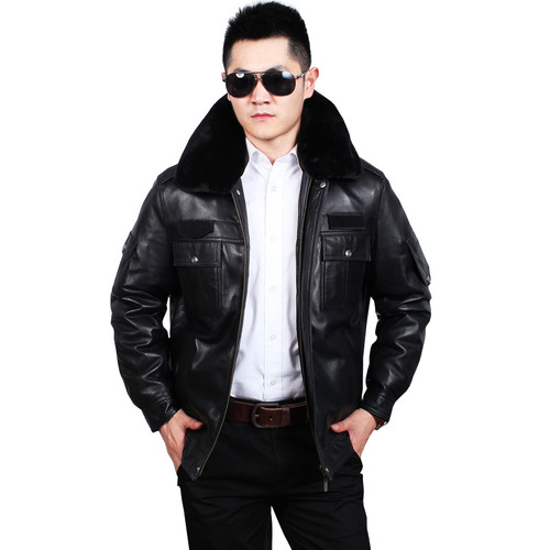 新品 山羊皮ゴートレザージャケット 新品セレブレザー本革レザージャケットJKT大きいサイズビッグビックメンズBIGミリタリアメカジビジネスバイカータイト 大人気 544489241762