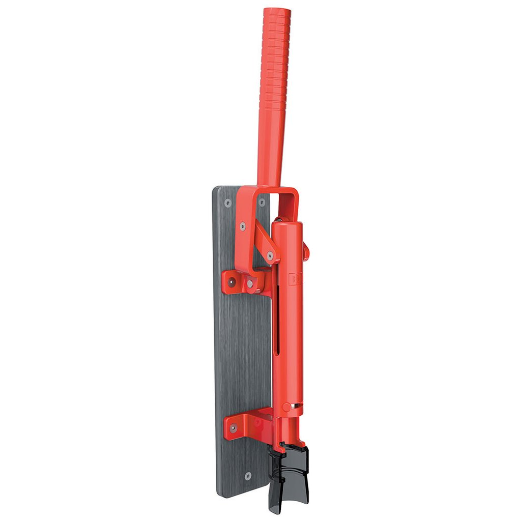 【BOJ】 Wall-mounted corkscrew(壁掛け式ワインオープナー) 赤(グレー木板台付)Mod.110 コルク抜き Maison Pou