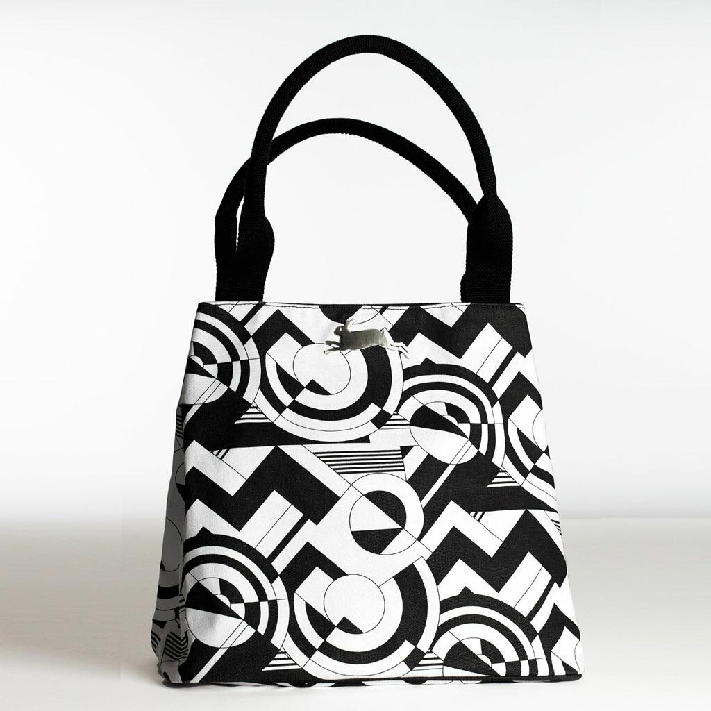 Art Deco(アール・デコ)【PEPIN(ペピン)】 ART BAG バッグ アートバッグ オランダ ヨーロッパ おしゃれ トートバッグ キャンバス かわいい 2way 機能的 肩掛け A4が入る 大容量 マザーズバッグ 柄 丈夫 内ポケット デザイン Maison Pou