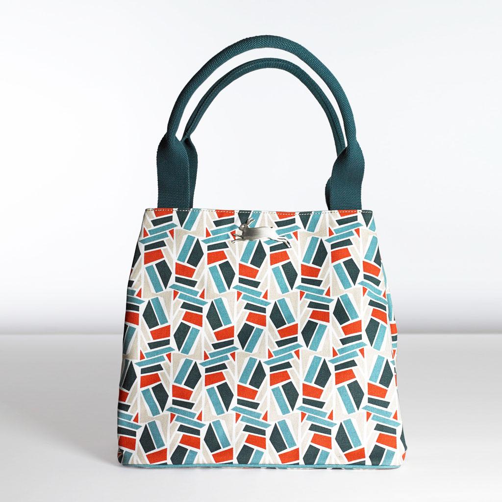 Modernism(モダニズム)2 【PEPIN(ペピン)】 ART BAG バッグ アートバッグ オランダ ヨーロッパ おしゃれ トートバッグ キャンバス かわいい 2way 機能的 肩掛け A4が入る 大容量 マザーズバッグ 柄 丈夫 内ポケット デザイン Maison Pou