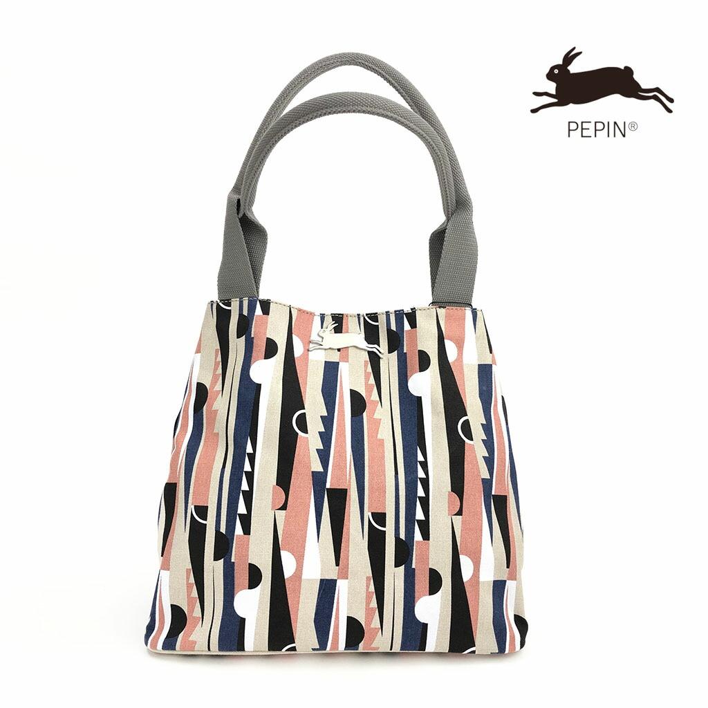 Modernism(モダニズム)1 【PEPIN(ペピン)】 ART BAG バッグ アートバッグ オランダ ヨーロッパ おしゃれ トートバッグ キャンバス かわいい 2way 機能的 肩掛け A4が入る 大容量 マザーズバッグ 柄 丈夫 内ポケット デザイン Maison Pou